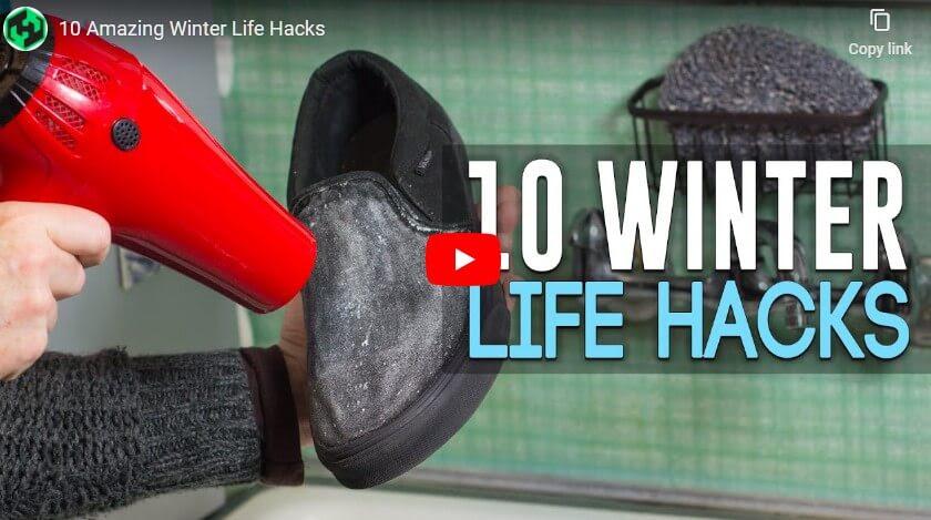 10 Winter Life Hacks
