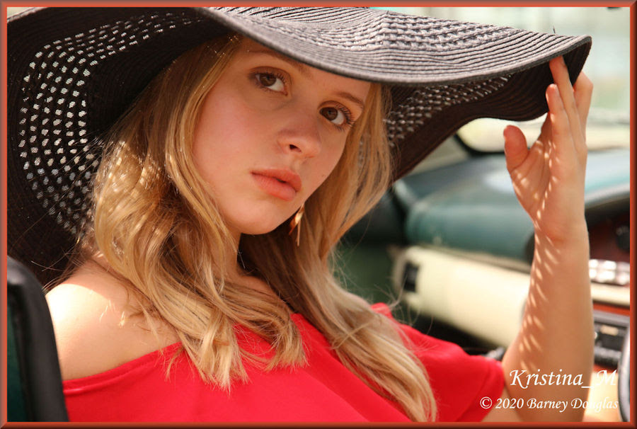 Model Kristina M for her portfolio