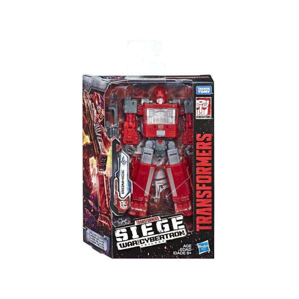 Image of Transformers War for Cybertron: Siege Deluxe Wave 2 - Ironhide - FEBRUARY 2019