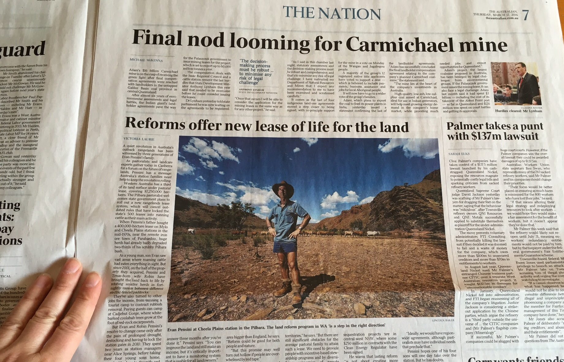 The Australian page 7