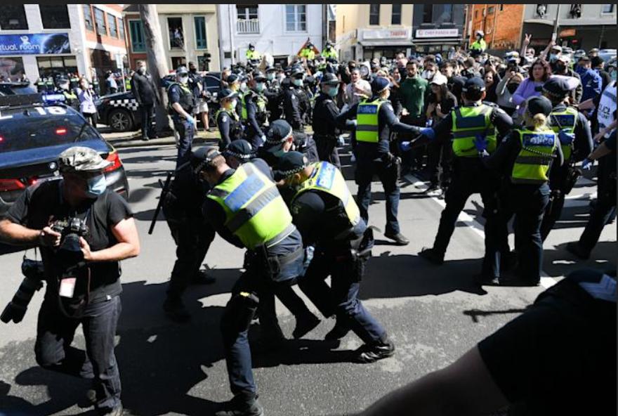 Aussie riots