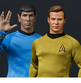 STAR TREK: THE ORIGINAL SERIES 1/6 SCALE FIGURES