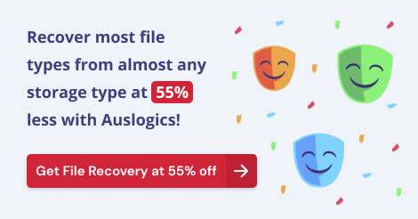 Auslogics File Recovery Discount Coupon