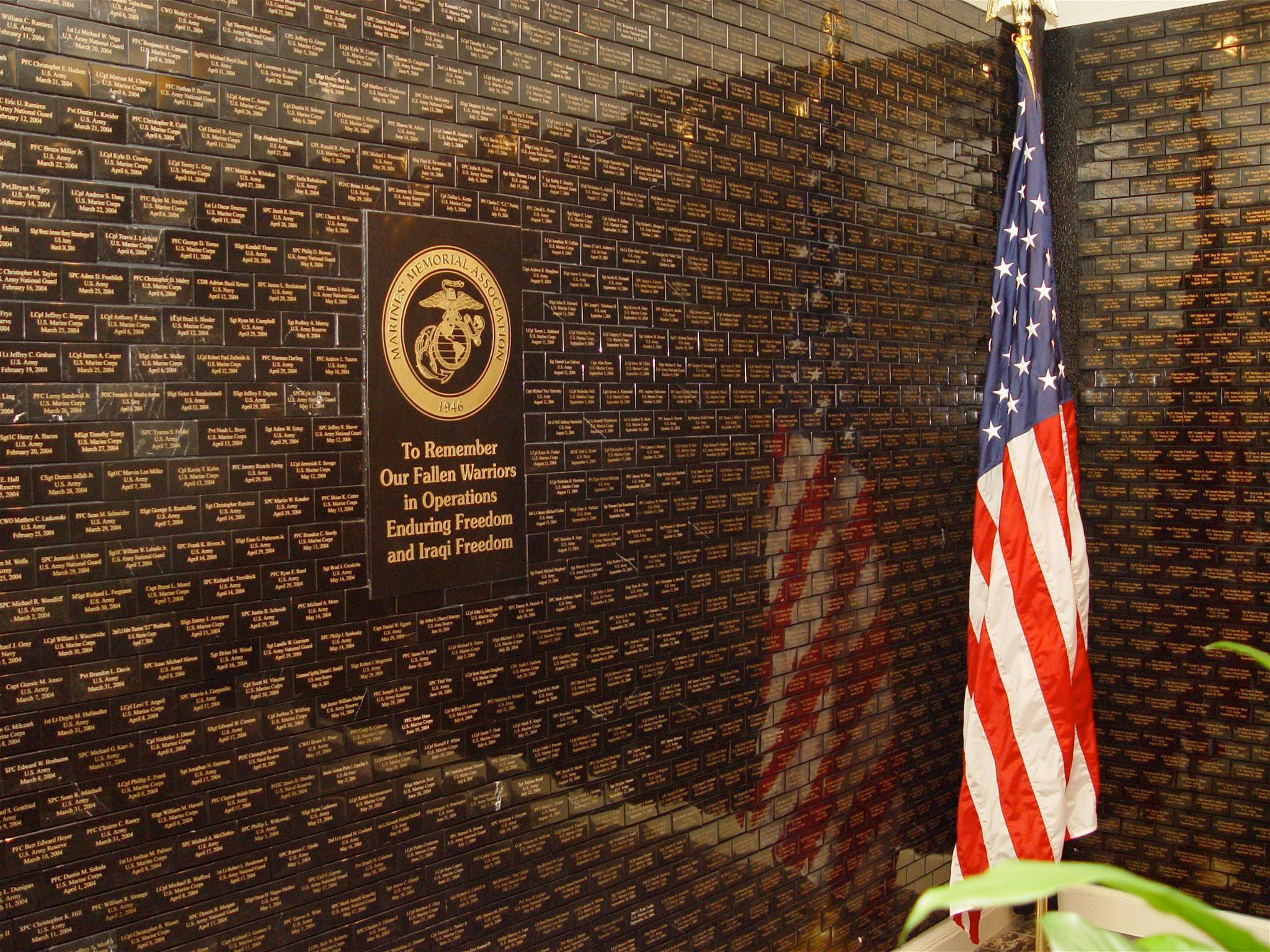 Tribute Memorial Wall