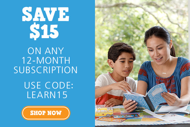 Save $15 on a Year of Learning...