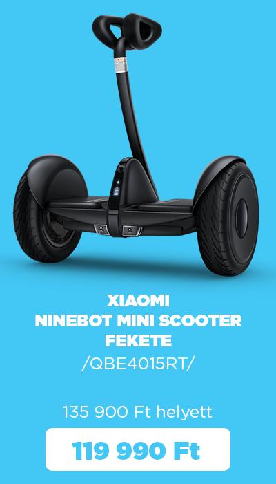 Őszi készletkisöprés - Xiaomi Ninebot Mini scooter fekete