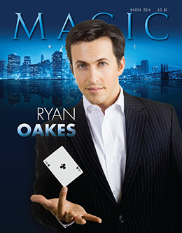 MAGIC Magazine March 2014 Cover