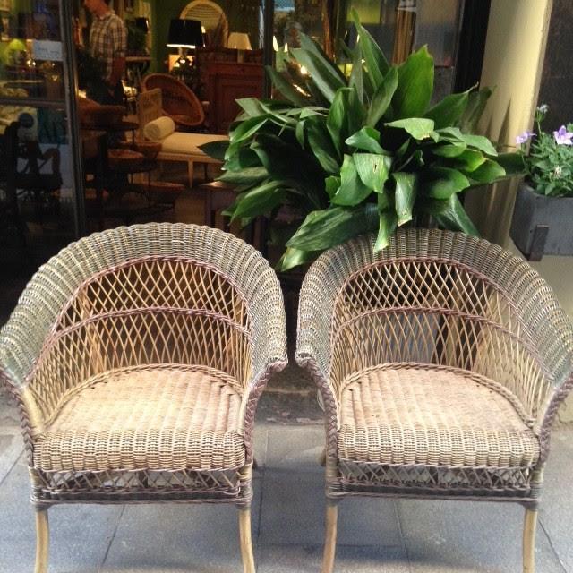 Hogarisimo los muebles de mimbre no pasan de moda for Muebles de moda