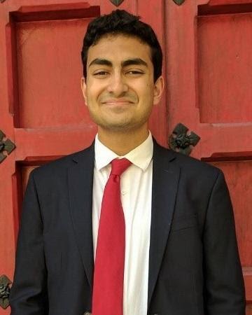 Saket Rajprohat, our Elsie Hillman Honors Scholar
