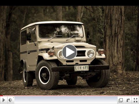 Toyota Land Cruiser 40 Series Video