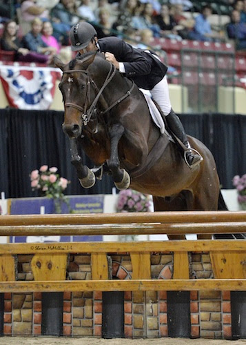 Hunt Tosh and Askaro had a high score of 91.33 in the second round. Photo © Shawn McMillen Photography.