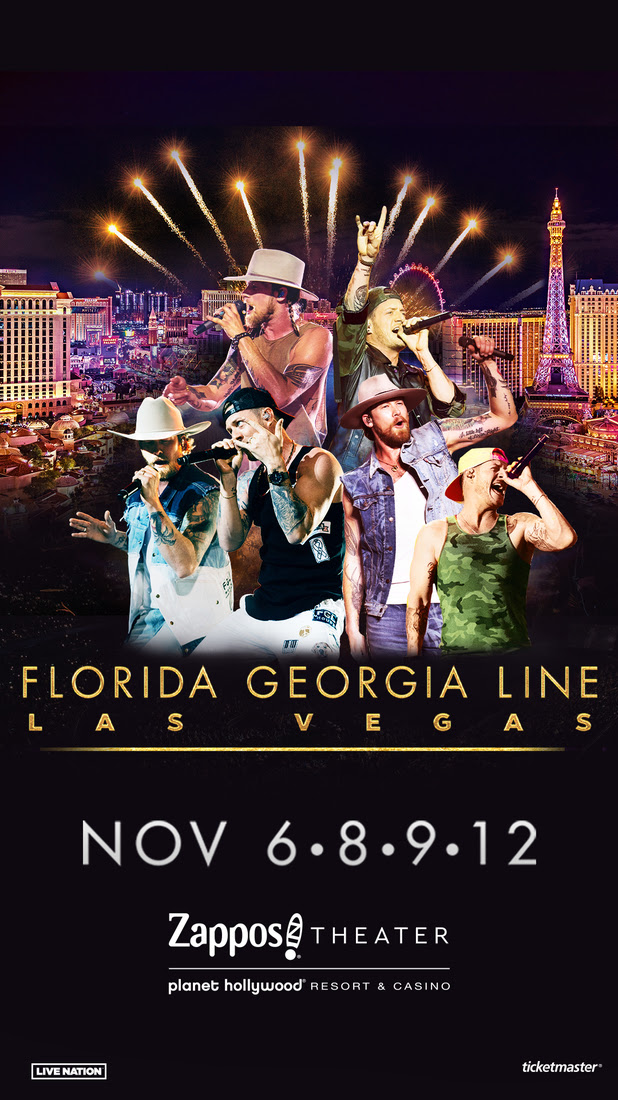 FLORIDA GEORGIA LINE LIVE FROM LAS VEGAS