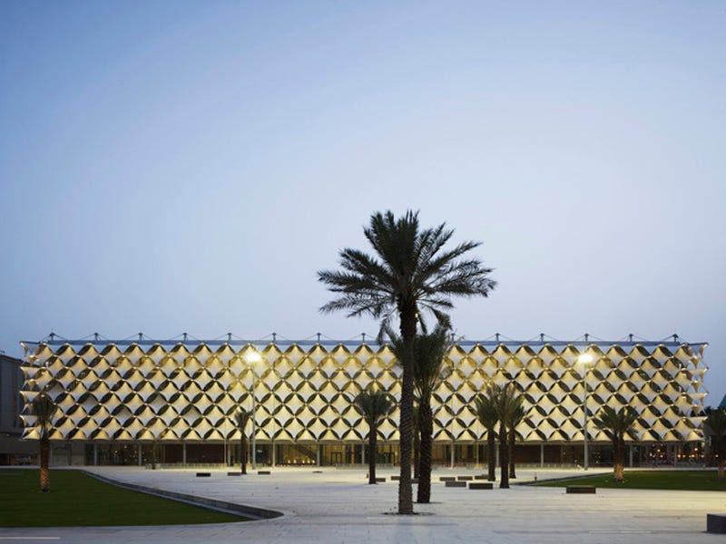 King Fahad National Library (Nominated for Best Refurbished Building and Special Jury Award)