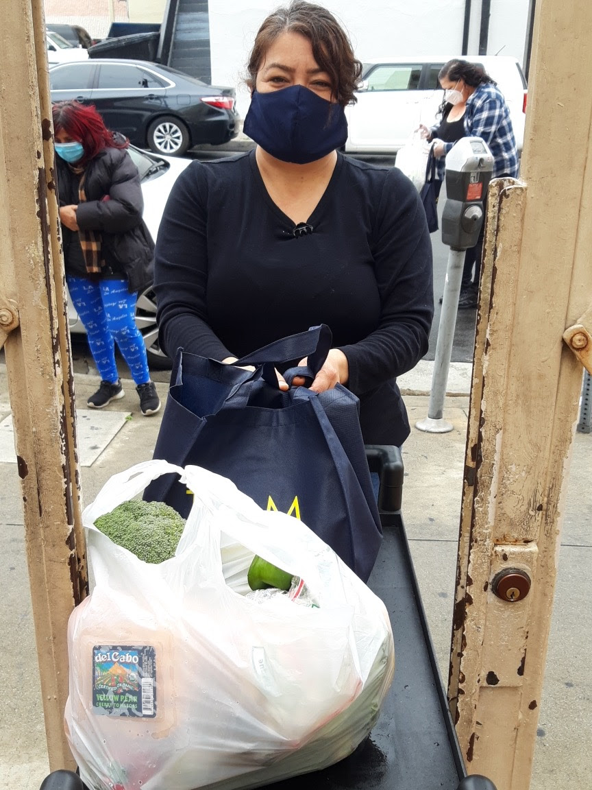 Healing Urban Barrios Food Bank 4-9-2020 #3