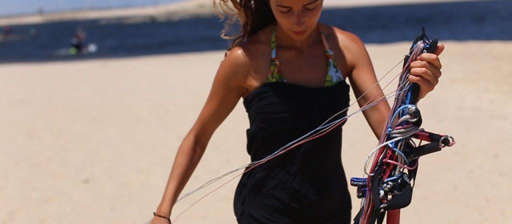 apprendre le kitesurf SantaMila
