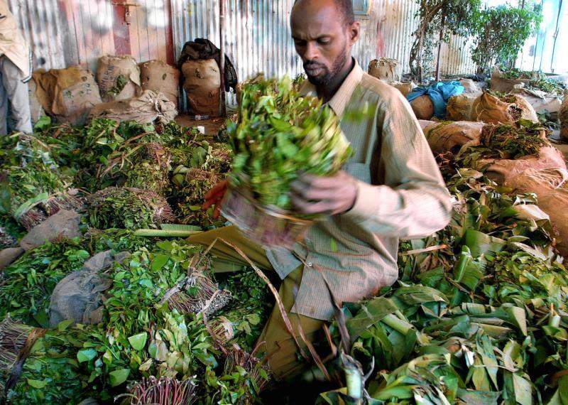 A Somali trader.