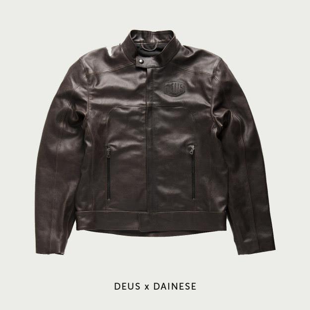 Deus x Dainese motorcycle jacket