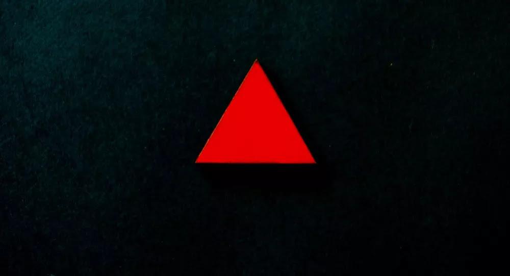 Un triángulo (imagen referencial)