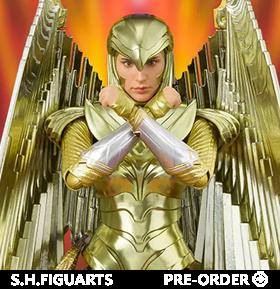 Wonder Woman 1984 S.H.Figuarts Golden Armor Wonder Woman Figure
