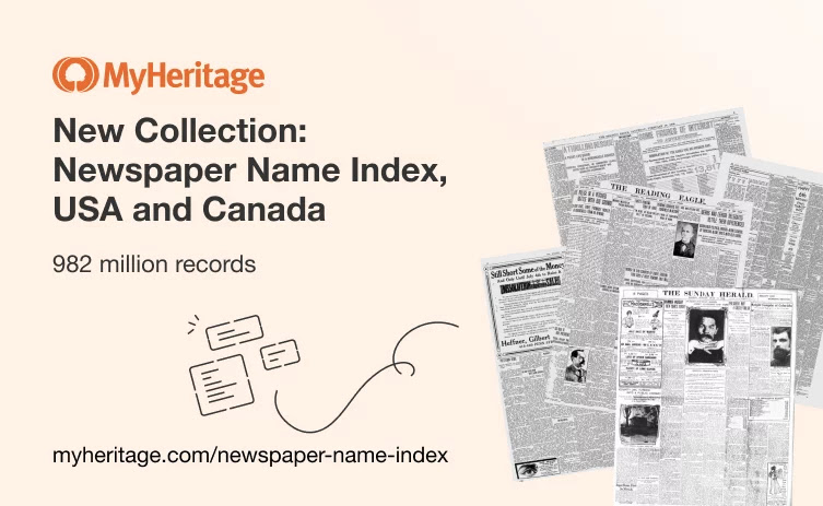 New Name Index from US and Canadian Historical Newspapers