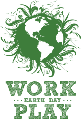 Work, Play, Earth Day Image