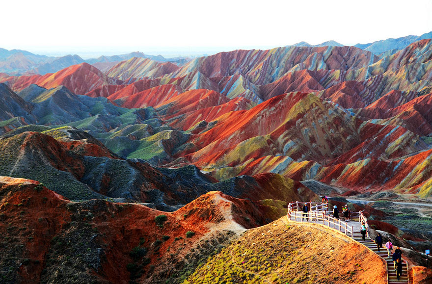 Zhangye Danxia Landform In Gansu, China