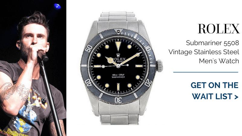 Rolex Submariner 5508 Vintage Stainless Steel Mens Watch