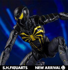 Spider-Man (2018 Video Game) S.H.Figuarts Spider-Man (Anti-Ock Suit) Exclusive
