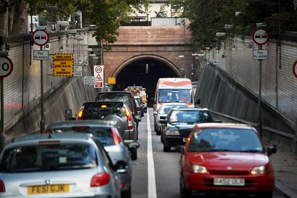 TfL Image - Rotherhithe Tunnel