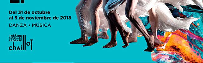 Del 31 de OCtubre al 3 de noviembre de 2018 . Danza - Música.