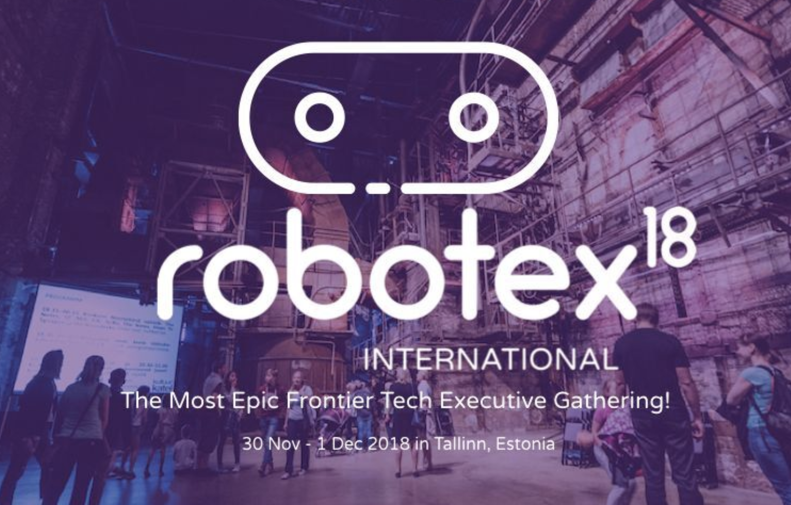 Robotex International Conference is the must-attend event of 2018