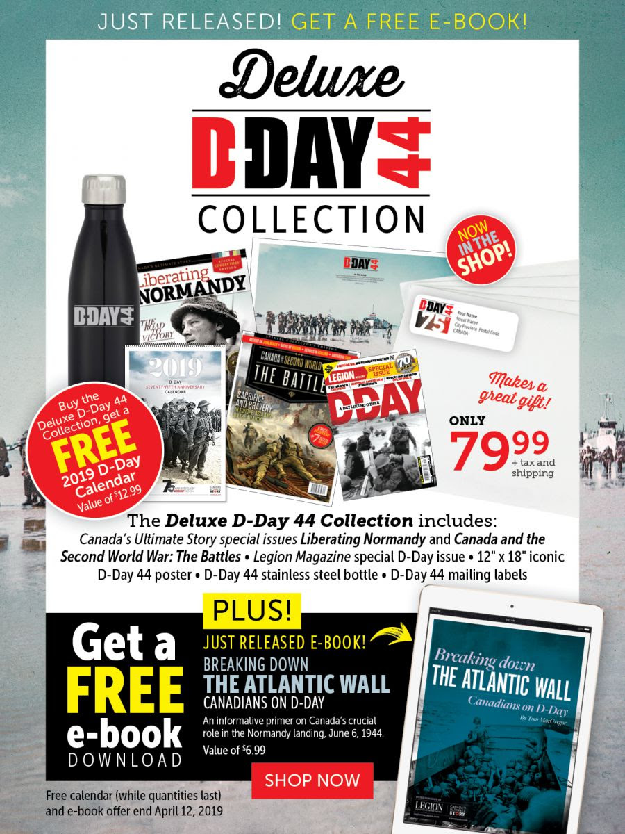 D-DAY Collection with FREE E-book!