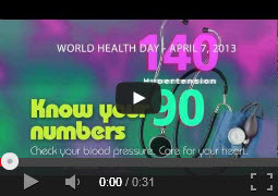 Video of the week: Hypertension: know your numbers