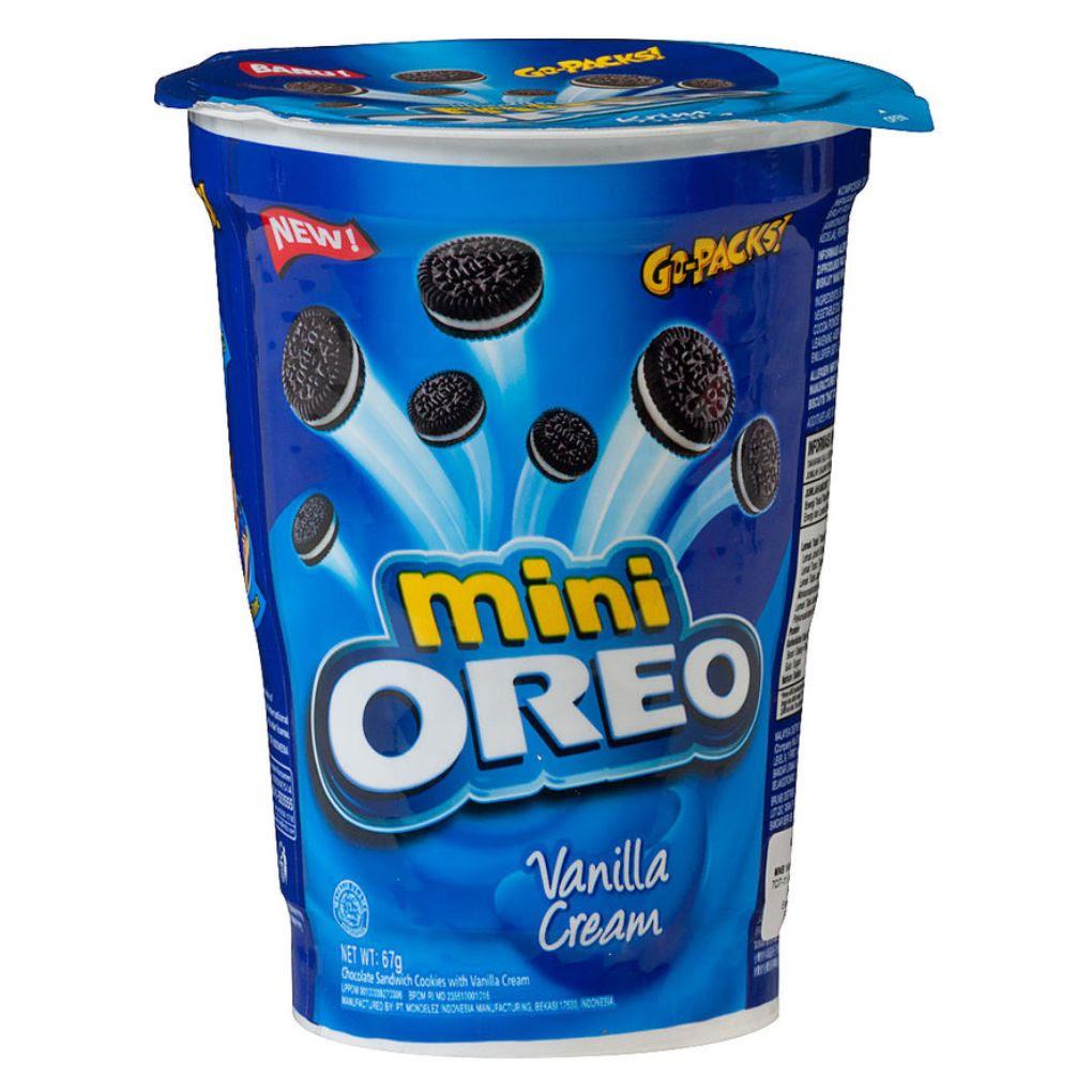 Oreo Mini 67g Vanilla