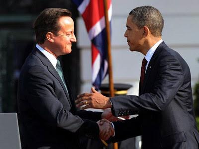 Cameron y Obama en una foto de archivo.