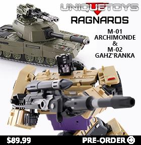RAGNAROS M-01 & M-02