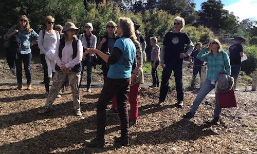 Deb explains permaculture.jpg
