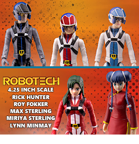 ROBOTECH POSEABLE ACTION FIGURES