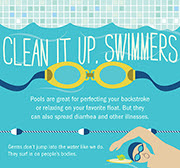clean it up, swimmers