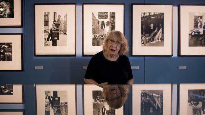 """La photographe Sabine Weiss exposée à Vannes : """"Ce qui reste, ce sont les photos que j'ai prises pour moi"""""""