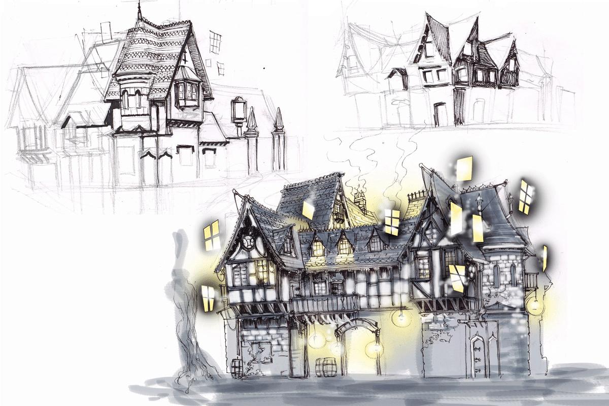 Gatehouse Sketch