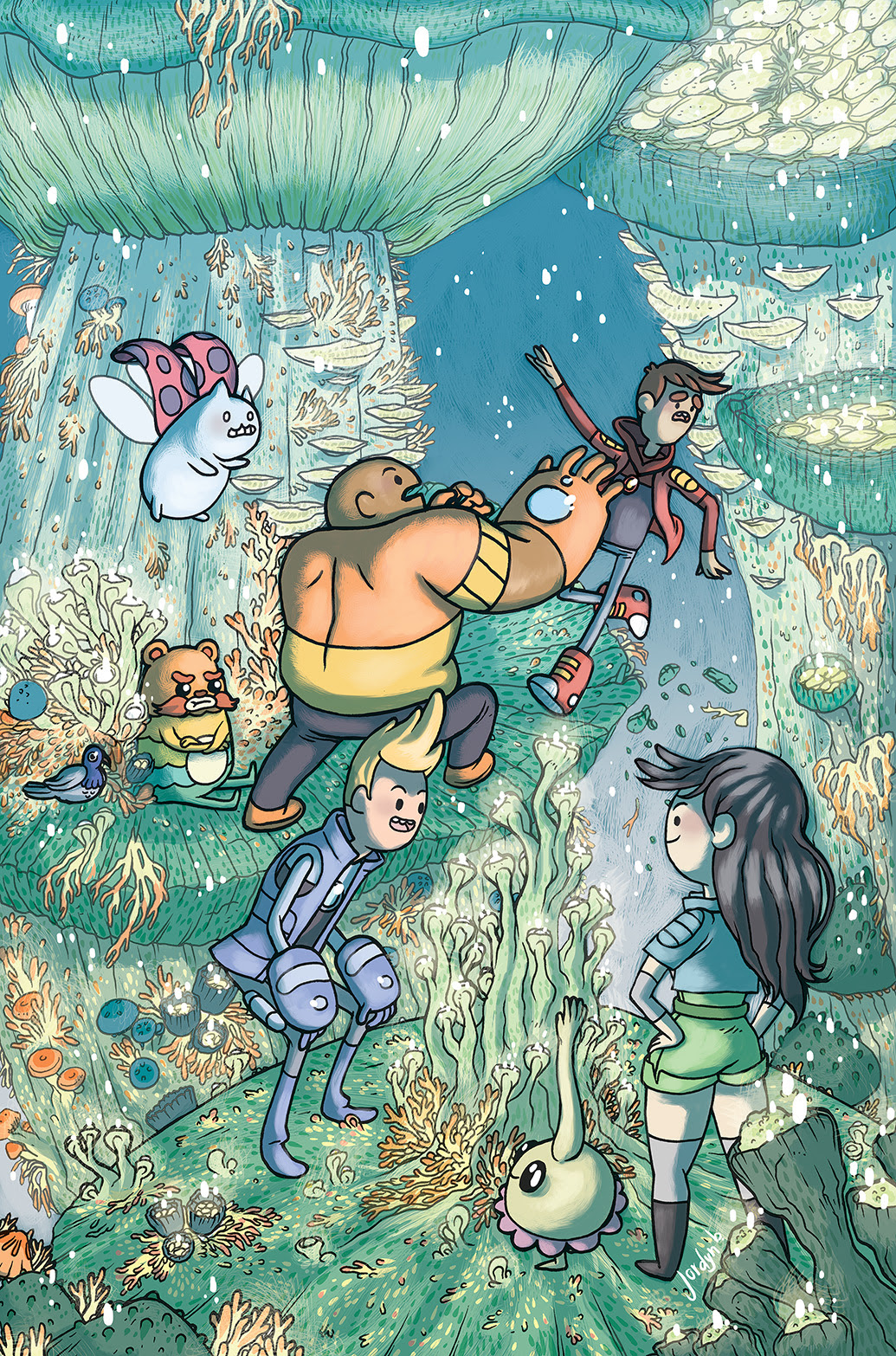 BRAVEST WARRIORS #24 Cover B by Jordyn Bochon