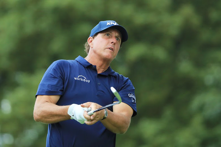 Phil Mickelson, after playing Saudi pro-am with backers of rival PGA Tour venture, says he's impressed by Premier Golf League pitch