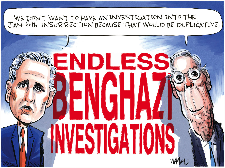 Republicans block investigation into Jan 6th insurrection.