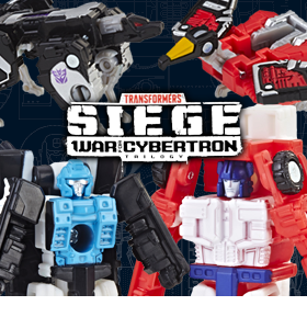 TRANSFORMERS WAR FOR CYBERTRON: SEIGE MICROMASTERS WAVE 2