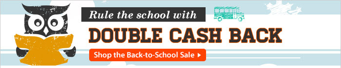 Rule the School with Double Cash Back
