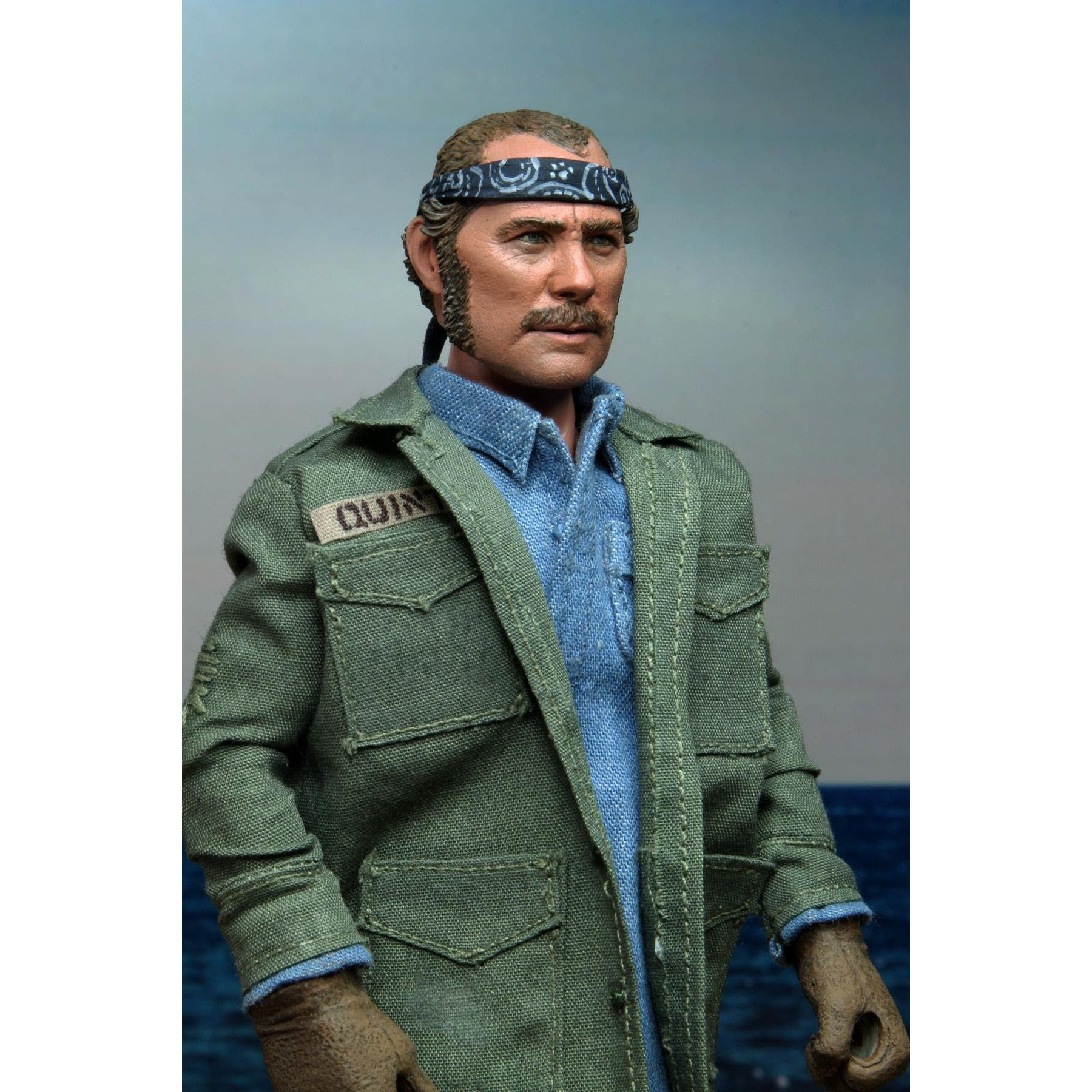"""Image of Jaws – 8"""" Clothed Action Figure – Sam Quint - SEPTEMBER 2020"""