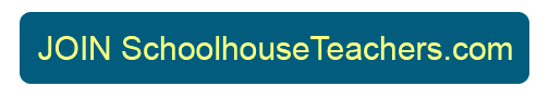 Join SchoolhouseTeachers.com now. $111/yr, code: ONES. 1st mo. for $1, code: ONEDOLLAR. Valid 04/01-04/30, new members only.
