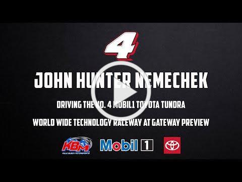 John Hunter Nemechek | World Wide Technology Raceway at Gateway Preview
