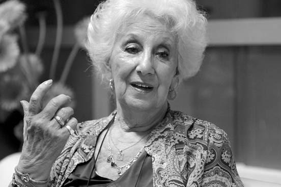 Estela Barnes de Carlotto, presidenta de Abuelas de Plaza de Mayo. Foto: Sandro Pereyra